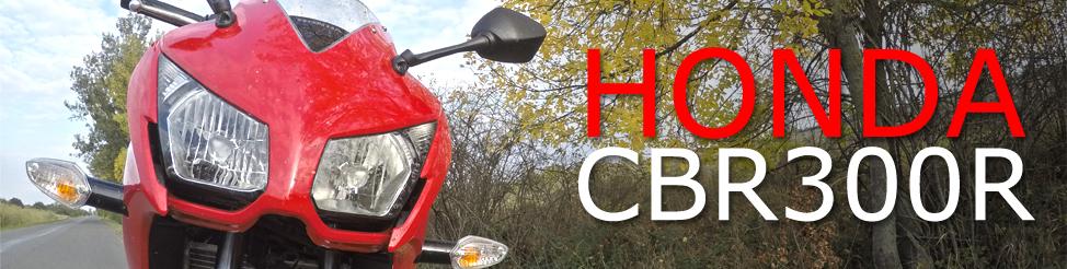 Részletesen a motoromról – Honda CBR300R