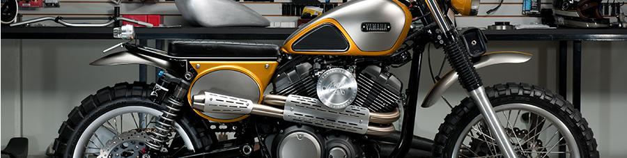 Egyedi Yamaha SCR950, de ki az a Jeff Palhegyi?