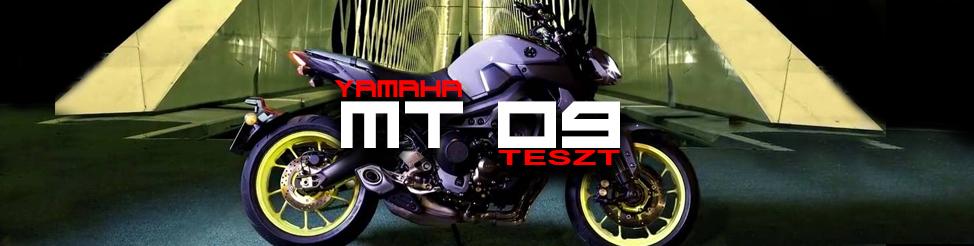 Yamaha MT-09 2017 – teszt