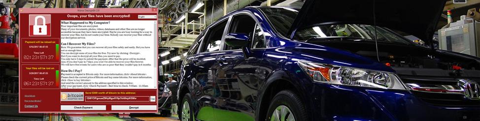 WannaCry vírus a Hondánál – leállt a Sayamai autógyár