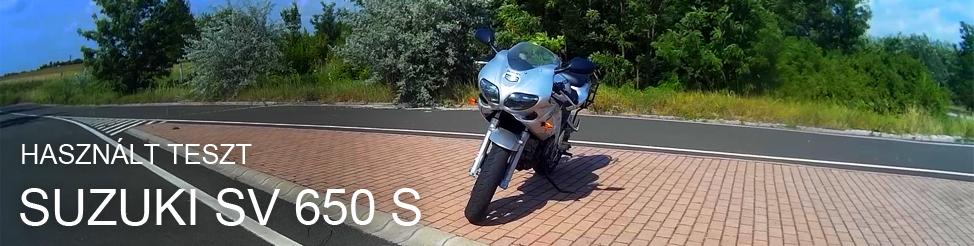 Használt teszt | 2002 Suzuki SV650S