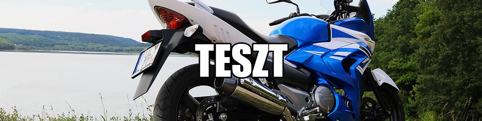 Suzuki Inazuma 250F – Teszt