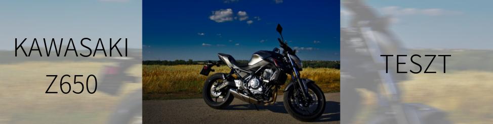 Kawasaki Z650 ABS 2017 | teszt