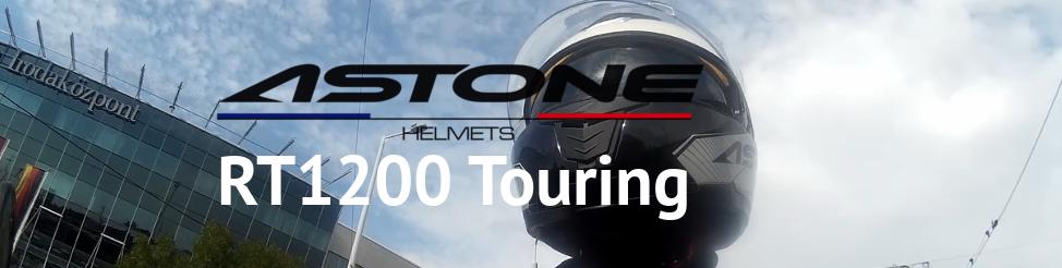 Astone RT1200 Touring felnyitható bukósisak teszt