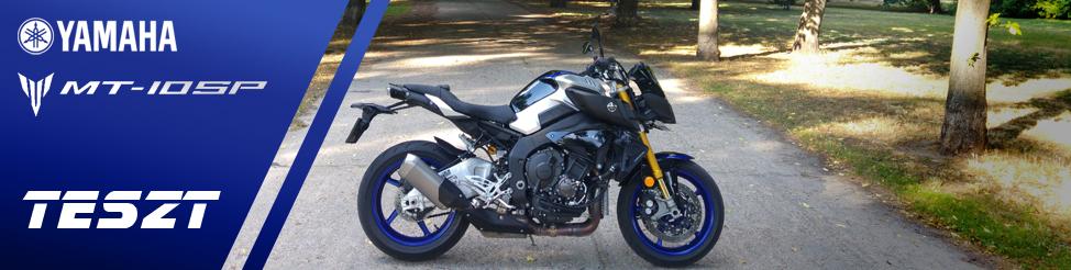 Yamaha MT-10 SP | TESZT