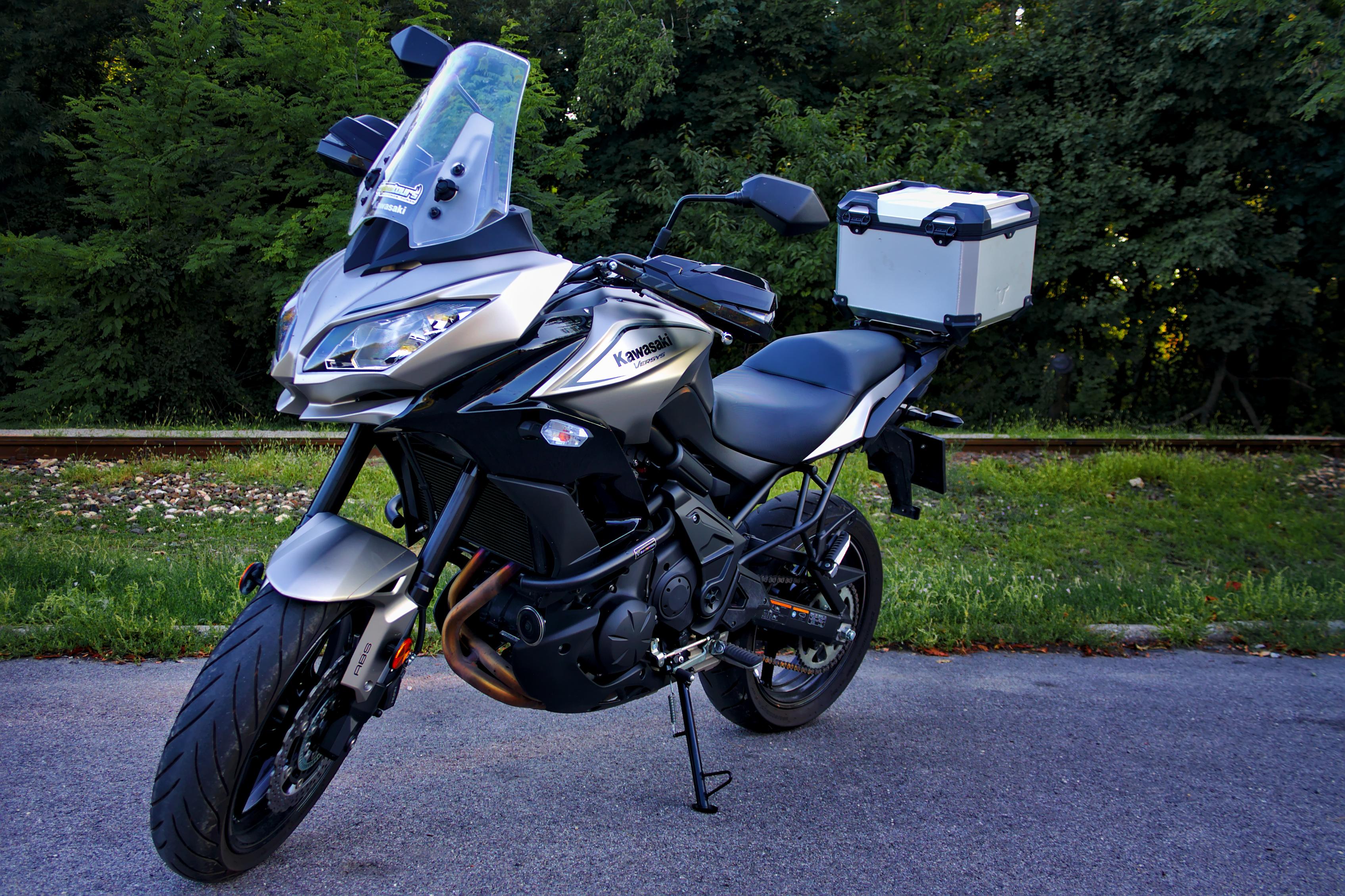 Kawasaki Versys 650 tükör