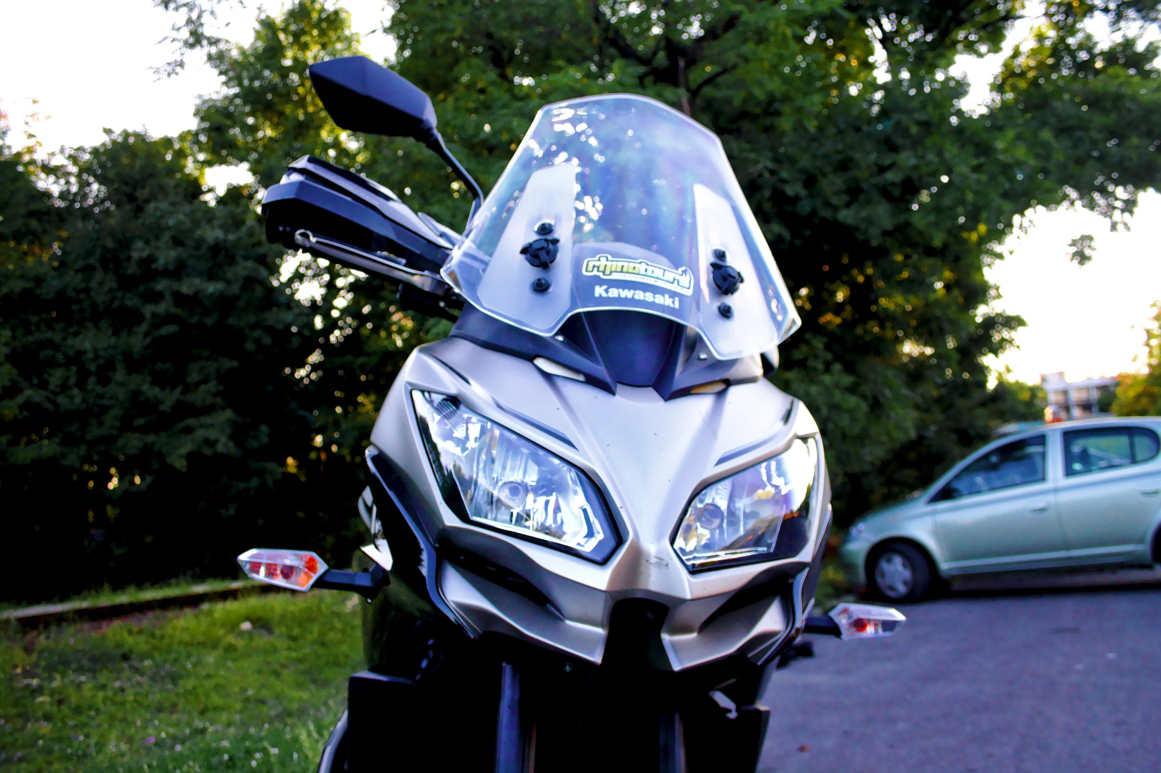 Kawasaki Versys 650 fejidom