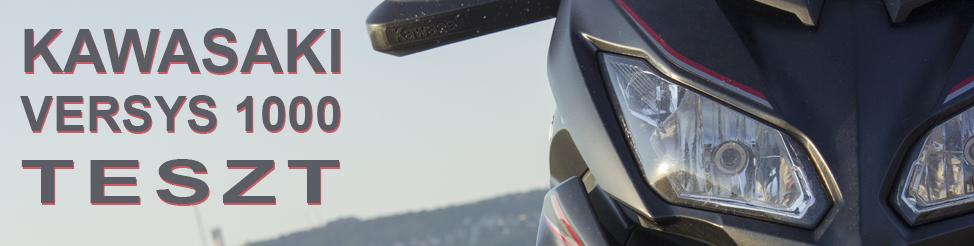 Kawasaki Versys 1000 2017 | teszt