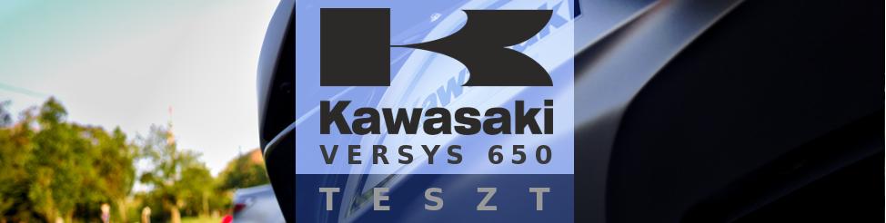 Kawasaki Versys 650 (2017) – teszt