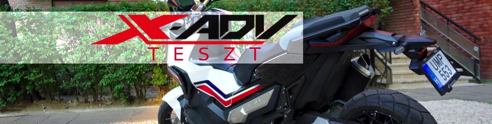 Honda X-ADV 2017 teszt