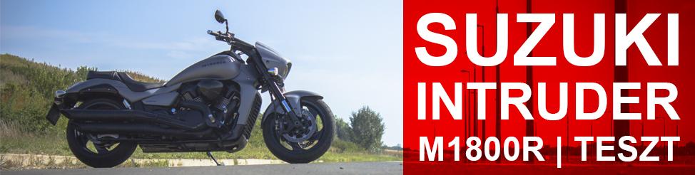 Suzuki Intruder | teszt