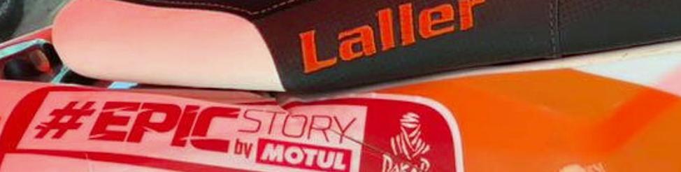 Ott leszünk a Dakaron Lallerrel
