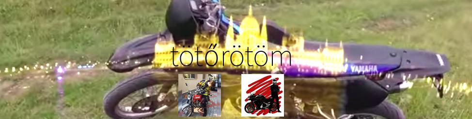 Yamaha DT50RSM Péter szemével, rakparton pedig Helmet csapatja
