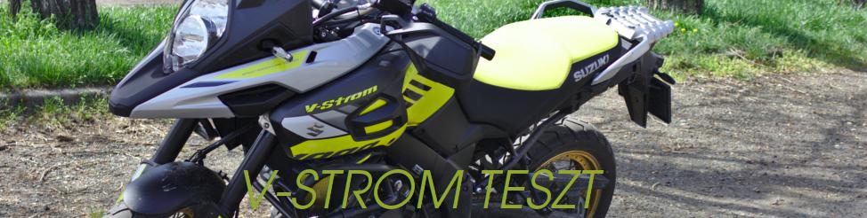 Suzuki DL1000XT teszt