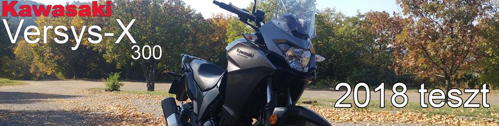 Kawasaki Versys 300 2018 teszt