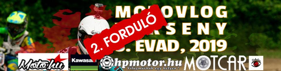 Motovlog verseny 2019 – 2. forduló